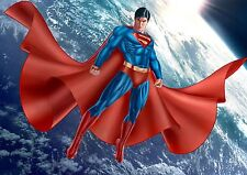 Cartel de tela Superman A3 repositional