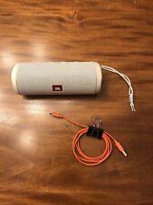 JBL Flip 4 Portable Bluetooth Speaker - White - PLEASE READ