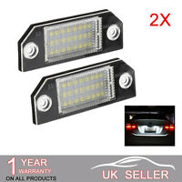 LED Licence Number Plate Light No Error For Ford Fiesta Focus C-Max Ford FOCUS