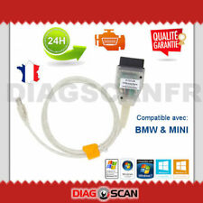 CABLE DIAGNOSTIC SCANNER K+DCAN CAN USB OBD2 INPA EDIABAS pour BMW MINI
