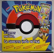 Nintendo coffret poké ball géant avec cassette vidéo du film + des cadeaux NEUF