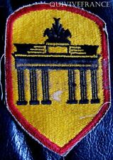IN6300 - WW II US ARMY BERLIN DISTRICT PATCH