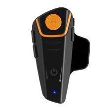 Waterproof BT-S2 1000m Bluetooth Motorcycle Motorbike Intercom Helmet Headset