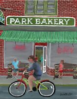 "Park Bakery Limited Edition 8x10"" Signed Print Seaside Park NJ Heights Art"
