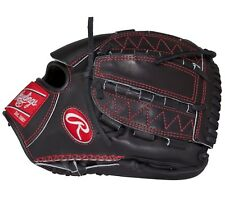 "New Rawlings PROS206−12B Pro Preferred Baseball Glove 12"" RHT Adult Black/red"
