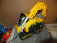 Vtech Digger Switch N and Go Dinos Turbo Woolly Mammoth 2 in 1 Excavator