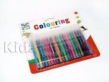 24pk Pennine Assorted Colours Washable Fibre Tip Pens