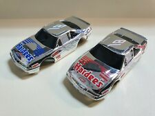 TYCO nascars chrome #18 hardees red and blue NEW,unused .NICE! RARE! superSALE!