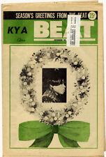 Vintage SF KYA BEAT NEWSPAPER Dec 1967 BEATLES Diana Ross BEE GEES Stone Poneys