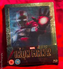Iron Man 2 - Zavvi Limited Edition Lenticular Steelbook Region Free + Art Cards
