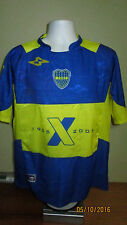 XL 42 Marval Soccer CABJ Boca Juniors #18 Futbol Jersey Shirt 1905-2005 Large