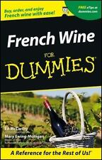 French Wine For Dummies by McCarthy, Ed, Ewing-Mulligan, Mary in Used - Like Ne