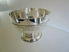 More details for silver plated agricultural  rose bowl trophy, neuk o'fife ploughing, 1926 - 1933