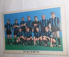 FIGURINA  CARTONATA 1961/  62 - RASA MILANO  - SQUADRA ATALANTA - ECCELLENTE