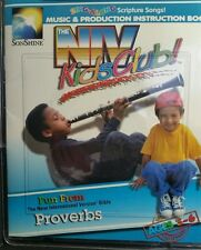 NIV Kids Club Proverbs Sing Along Song Book Music Cassette Bible Study Learn