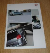Vauxhall Signum Brochure 2003 Elegance Design Elite 3.2 V6 2.0T 2.2 DTI 3.0 CDTI