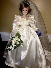Princess Diana Porcelain Bride Royal Wedding Doll