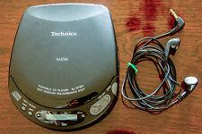 Technics SL-XP160 Portable CD Player + Pullman Case Walkman vgc