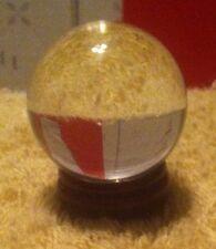 asian Clear Natural Quartz magic Crystal Healing Ball Sphere 40mm + Stand