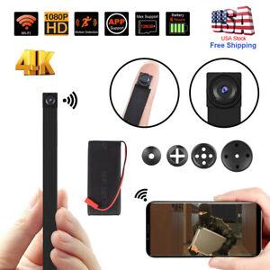 Spy Nanny Cam 1080p HD wireless WiFi Mini Hidden pinhole DIY Screw camera DVR