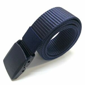 Web Belt Fashion Casual Outdoor Military Tactical Polyester Waistband Canvas