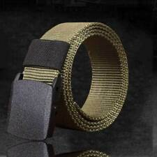Men's Fashion Outdoor Sports Waistband Military Tactical Nylon Canvas Web Belt I