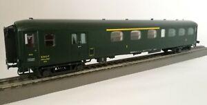 L.S. Models 40193 Voiture voyageur SNCF mixte 1ère/2ème/Fourgon Rapide Nord