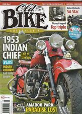 INDIAN CHIEF Triumph Triple Legend DUNLOP RALLY 1912  Peter Richards OLD BIKE 41