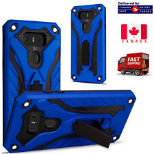 For LG G6 - ShockProof Heavy Duty Armour Builder Kick Stand Cover Case