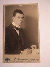 Friburgo i. Br. - 1912-Leo Karlsbad da giovane-Portrait/CDV