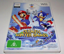 Sonic and Mario at the Winter Olympic Games Nintendo Wii PAL *Complete*
