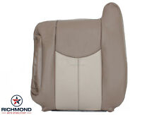 2003-2006 GMC Yukon/Yukon XL Denali-Driver Side Lean Back Leather Seat Cover TAN