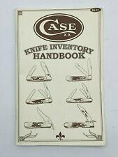 Vintage Case XX Knife Inventory Handbook 1996 Personal Catalog Collectors