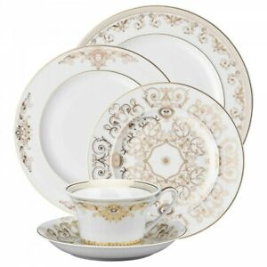 Medusa Gala by Rosenthal - Versace 5 piece Place Setting, fine China, NEW