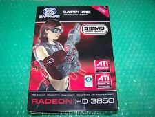 Sapphire Radeon HD3650 PCIe 512MB DDR2 Dual DVI Graphics Card, Boxed