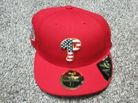 New Era Philadelphia Phillies 4th of July Stars Stripes Hat 7 1/2 Low Profile