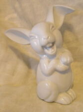 ROSENTHAL GERMANY SUPERB PORCELAIN DISNEY CARTOON STYLE LAUGHING WHITE RABBIT