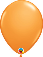 """11"""" STANDARD ORANGE PACK OF 100 QUALATEX BALLOONS PARTY SUPPLIES"""