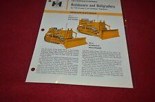 International Harvester TD-6 Bulldozers & Bullgrader Dealer's Brochure YABE10 v