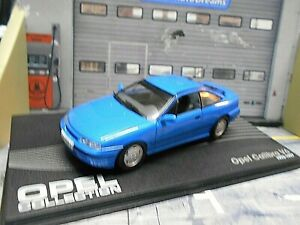 OPEL Calibra V6 Coupe 1993 - 1997 blau blue IXO Altaya SP 1:43