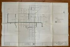 MR1208:Corporation of Town of Parkhill Water Distribution System Map June 1979