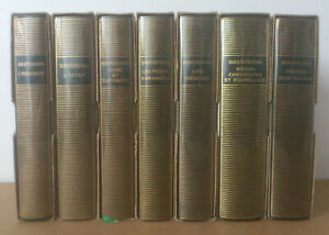 (LA PLÉIADE)  - DOSTOÏEVSKI. OEUVRES (7 VOLUMES, COMPLET) - 1966-1973