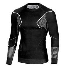 Herren AKTIVE 3D Skiunterwäsche Thermounterwäsche  langarm Shirt