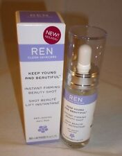 REN Clean Skincare Instant Firming Beauty Shot 1.02oz NEW IN BOX
