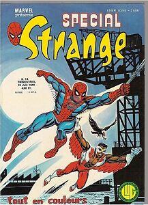 COMICS : SPECIAL STRANGE n° 16 marvel lug 10 djuin 1979