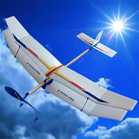 Assembly Glider Rubber Elastic Powered  Flying Plane Fun Model Kids Toy、 FE