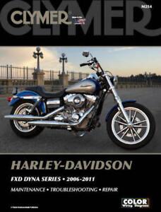 2006-2011 Harley Davidson FXD Dyna Super Street Wide Glide CLYMER REPAIR MANUAL