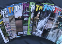 THRASHER MAGAZINE LOT 2018-19, 9 Issues Very Good Condition ($5 An Issue)