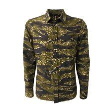 Chaqueta Camisa Hombre Camuflaje ASPESI Modelo A CE84 G220 R2 Ut-Camisa 100%