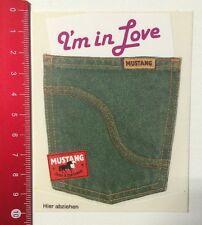 Aufkleber/Sticker: Original Mustang Jeans & Sportswear - I'm In Love (08051670)